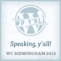 Speaking at WordCamp Birmingham 2012